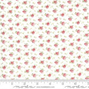 Moda  - Fabric - Bloom - Crystal - Cream 44254-11