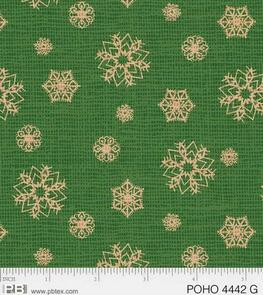 P & B Textiles  Postcard Holiday - 4442G