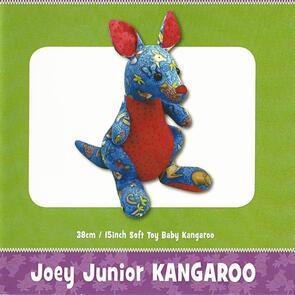 Funky Friends Factory Joey Junior Kangaroo Toy Sewing Pattern