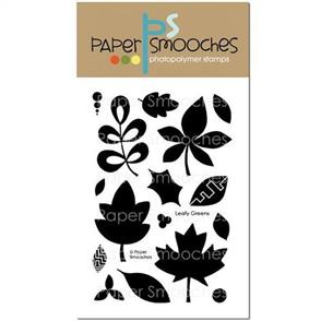 Paper Smooches  Leafy Greens Stamp Set (Clearance)