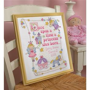 Bucilla  Cross Stitch Kit: Princess Birth Record