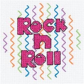 Bucilla  My 1st Stitch Cross Stitch Kit: Rock n Roll