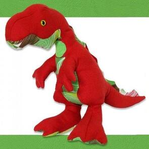 Funky Friends Factory Timmy T-Rex Toy Sewing Pattern