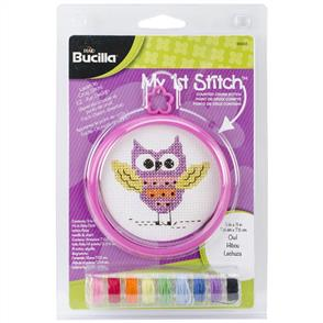 Bucilla  My 1st Stitch Cross Stitch Kit: Owl