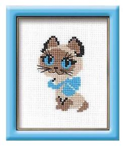 Riolis  Kitten - Cross Stitch Kit
