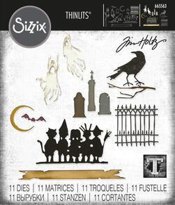 Sizzix Tim Holtz Thinlits Die Set - Vault Series: Halloween