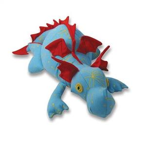Funky Friends Factory  Diggles the Dragon Soft Toy Sewing Pattern