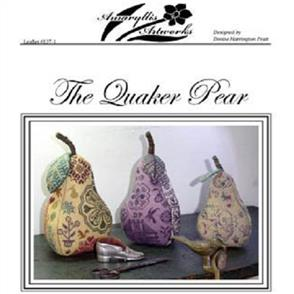 Amaryllis Artworks  Pattern - The Quaker Pear