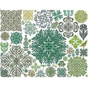 Ink Circles  Chart - Garden Stars