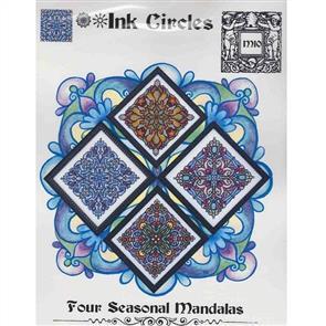 Ink Circles  Chart - Four Seasonal Mandalas