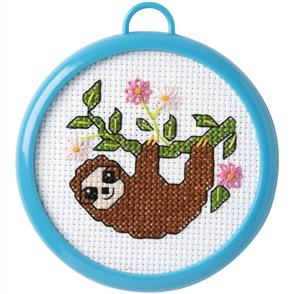 Bucilla  My 1st Stitch Cross Stitch Kit - Sloth