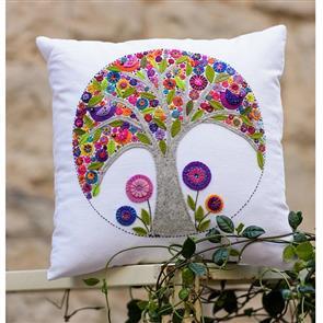 Wendy Williams  Pattern - Mini Tree Of Life Cushion
