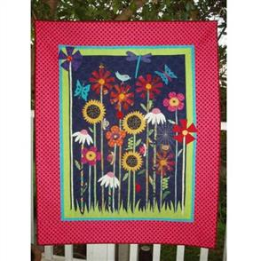Wendy Williams Pattern - Bugs And Blooms Quilt