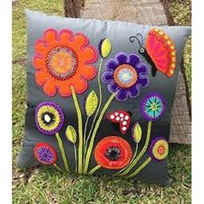 Wendy Williams Pattern - Baby Blooms Cushion