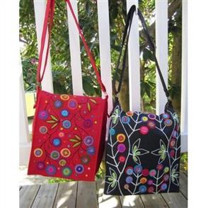 Wendy Williams  Pattern - Messenger Bag