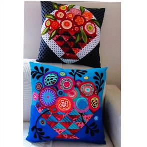 Wendy Williams  Pattern - Bloomin' Basket Cushions