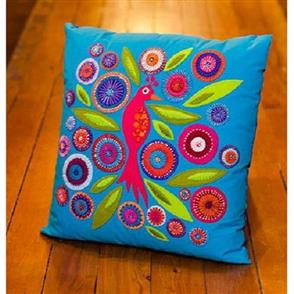 Wendy Williams  Pattern - Crested Bird Cushion