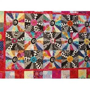 Wendy Williams  Pattern - Retro Blooms