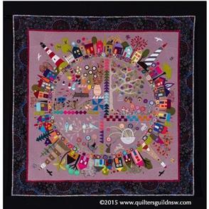 Wendy Williams Pattern - Round the Garden