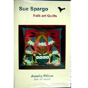 Sue Spargo  Folk-art Quilts - Amelia Pillow