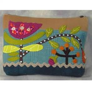 Sue Spargo  Folk-art Quilts - Wild Tulip Sac