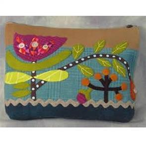 Sue Spargo Folk-art Quilts - Wild Tulip Sac