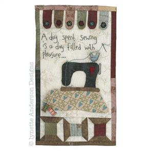 Lynette Anderson  A Day Spent Sewing