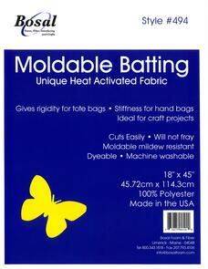 Bosal Moldable Heat Activated Batting 18in x 45in
