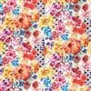 In the Beginning Fabrics  - Hummingbird Lane Floral Multi 4HL-1
