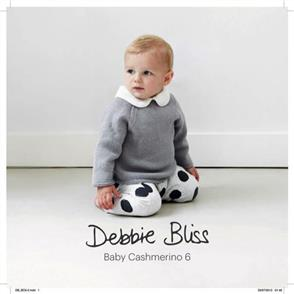 Debbie Bliss  Baby Cashmerino Six / Knitting Pattern Book