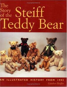 DAVID & CHARLES Steiff Teddy Bear