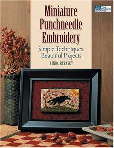Martingale  Miniature Punchneedle Embroidery