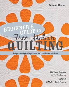 Stash Books  Beginner's Guide to Free Motion Quilting