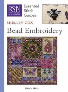 Search Press By Shelley Cox - Bead Embroidery (Essential Stitch Guide)