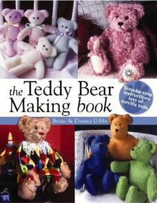 DAVID & CHARLES The Teddy Bear Making Book