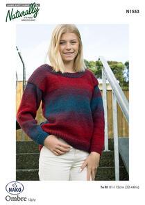 Naturally Drop Shoulder Sweater N1553