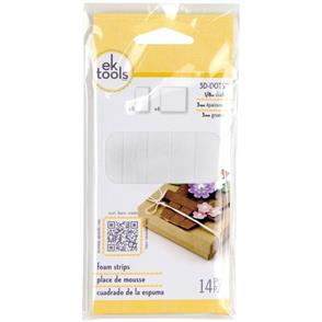 EK Tools  3D Dots Foam Dot Adhesive - Foam Strips