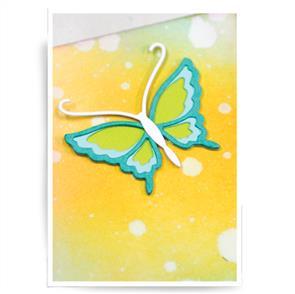 Birch Press Dies - Genevievre Butterfly