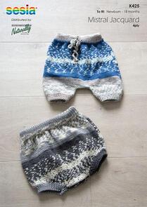 Naturally K425 Bloomers Knitting Pattern