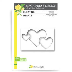 Birch Press  Dies - Floating Hearts
