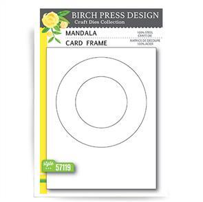 Birch Press Dies - Mandala Card Frame