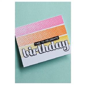 Birch Press  Big Birthday Sugar Script - Layer Set