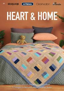 Heirloom  Heart and Home - 371 - 12 Patterns for your heart and home