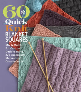 Sixth & Spring  60 Quick Knit Blanket Squares