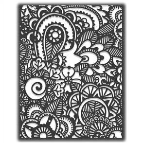 Sizzix Tim Holtz Thinlits Die By  - Doodle Art #2