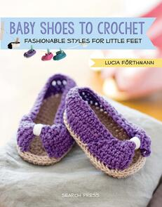 Search Press  Baby Shoes to Crochet