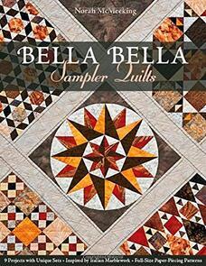 C&T Publishing  Bella Bella Sampler Quilts: 9 Projects
