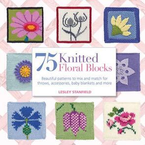 Milner Craft  75 Knitted Floral Blocks