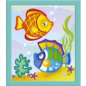 Riolis  Fish - Beads Embroidery Kit