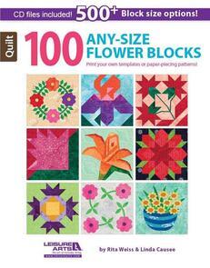 Leisure Arts  100 Any-Size Flower Blocks